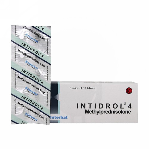 INTIDROL 4 MG TABLET BOX