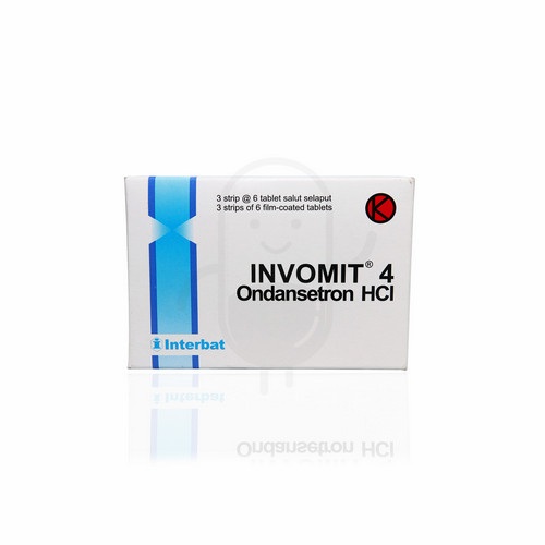 INVOMIT 4 MG TABLET STRIP