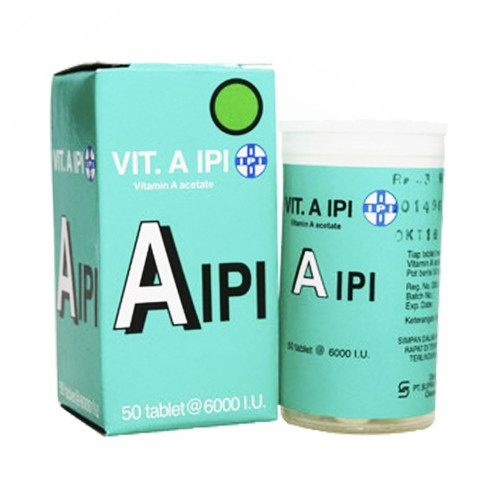 IPI VITAMIN A BOX 50 TABLET