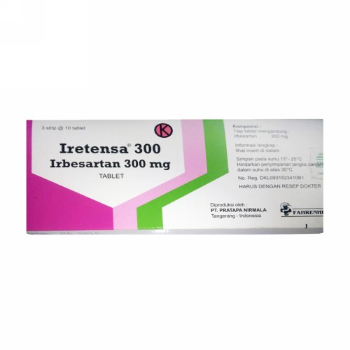 IRETENSA 300 MG TABLET