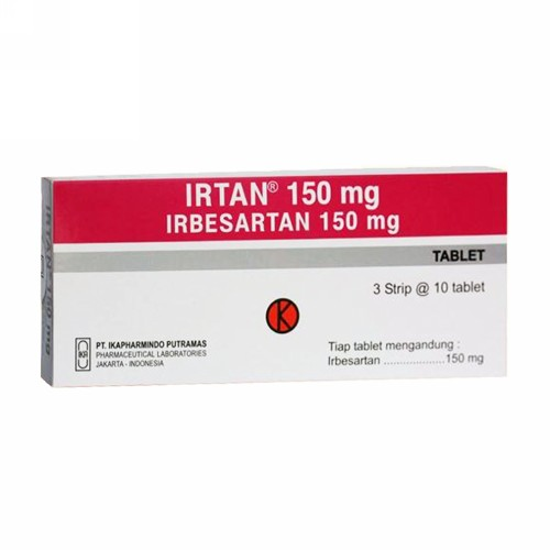 IRTAN 150 MG TABLET STRIP