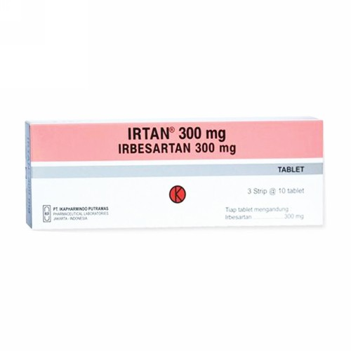 IRTAN 300 MG TABLET BOX