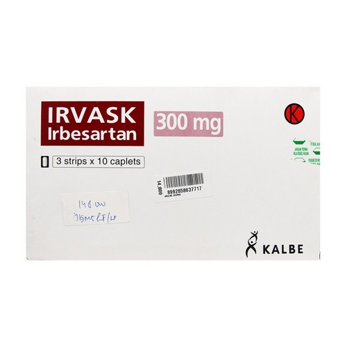 IRVASK 300 MG STRIP 10 KAPLET