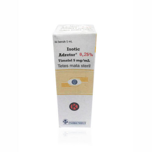 ISOTIC ADRETOR 0.25 % 5 ML EYE DROP