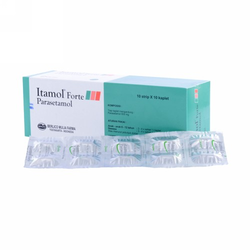 ITAMOL FORTE 650 MG KAPLET STRIP