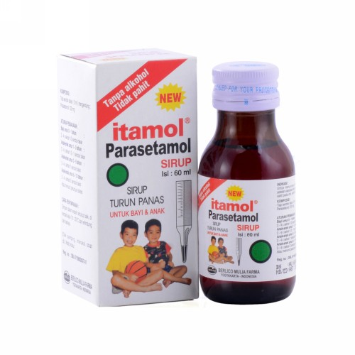 ITAMOL SIRUP 60 ML