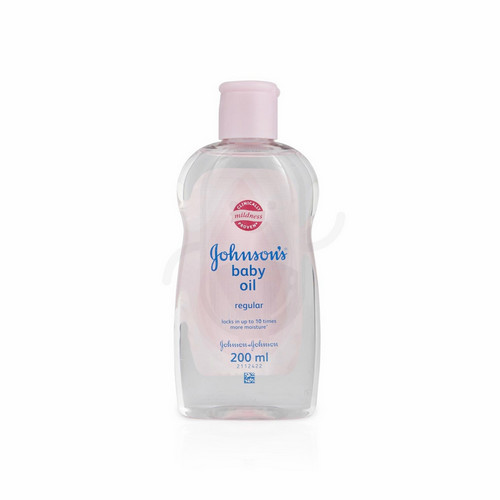 JOHNSON'S BABY OIL REGULAR 200 ML BOTOL