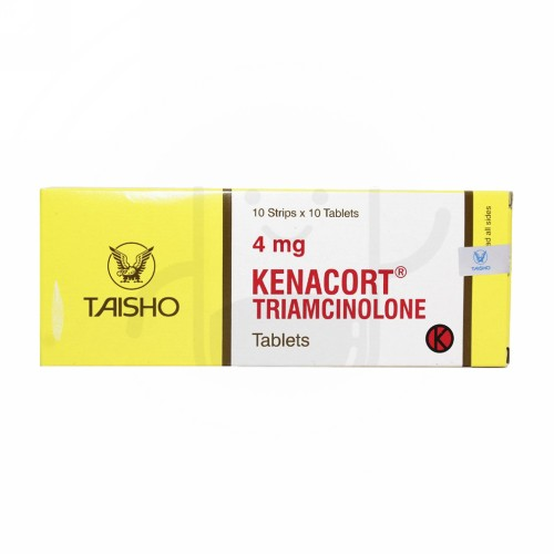 KENACORT 4 MG TABLET STRIP