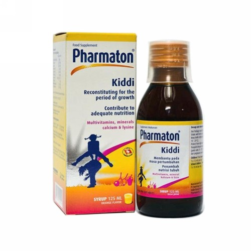KIDDI PHARMATON 125 ML SIRUP