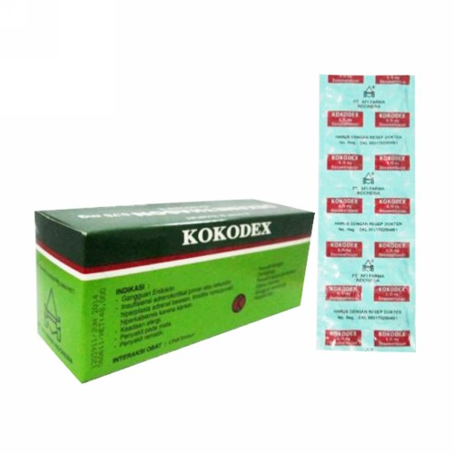 KOKODEX 0,75 MG KAPLET