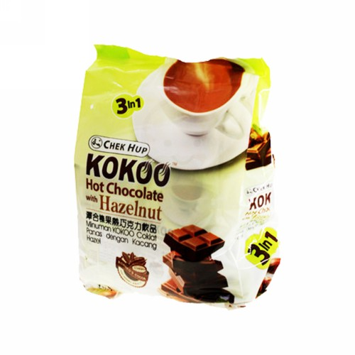 KOKOO HOT CHOCOLATE WITH HAZELNUT PACK 600 MG