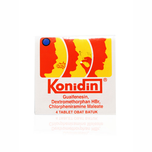 KONIDIN STRIP 4 TABLET