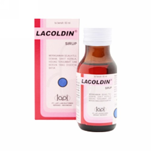 LACOLDIN SIRUP 60 ML