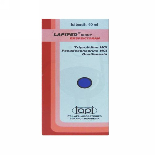LAPIFED EXPECTORANT SIRUP 60 ML