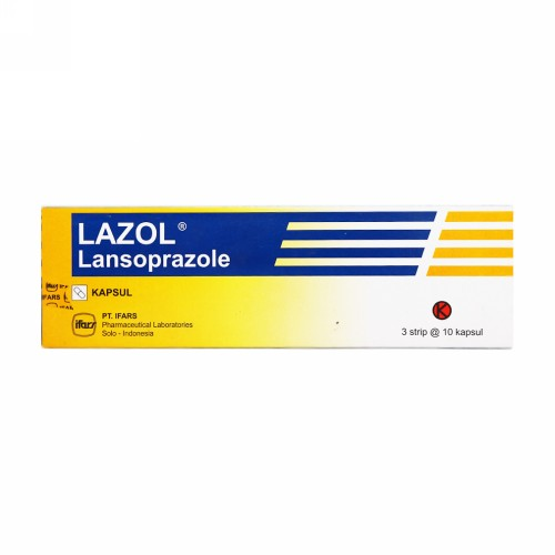 LAZOL 30 MG KAPSUL STRIP