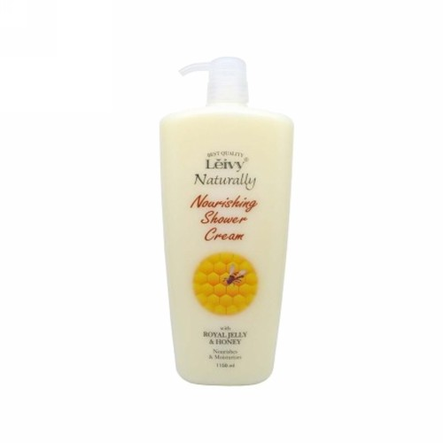LEIVY NATURALLY NOURISHING SHOWER CREAM ROYAL JELLY 250 ML