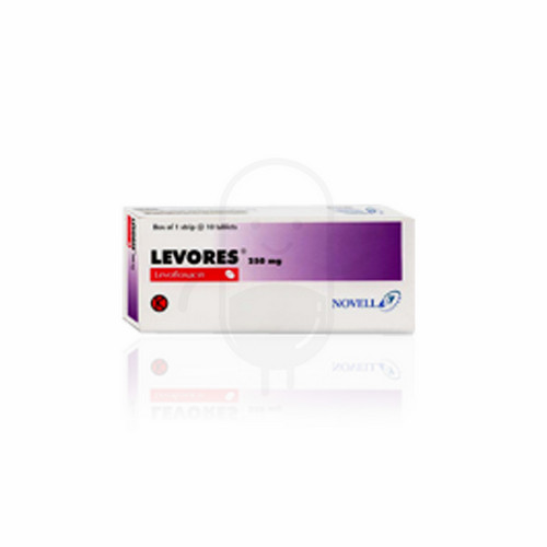 LEVORES 250 MG BOX 10 TABLET