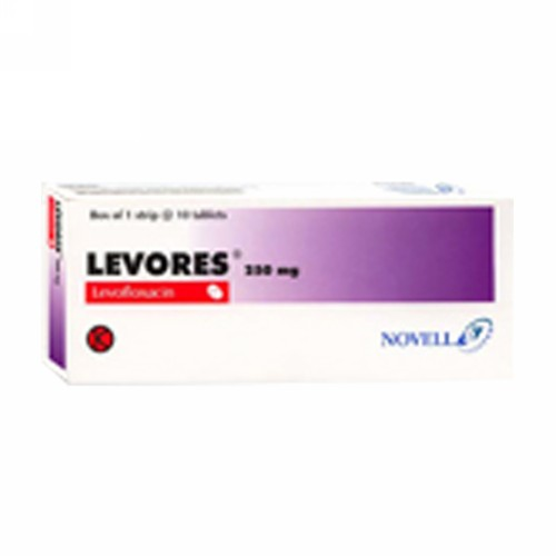 LEVORES 500 MG TABLET BOX