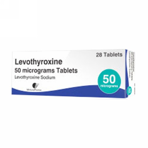 LEVOTHYROXINE 50 MCG TABLET STRIP