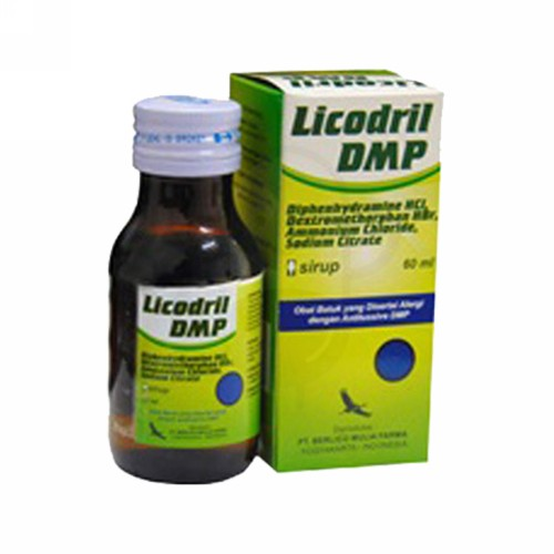LICODRIL SIRUP 60 ML