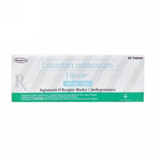 LIFEZAR 100 MG STRIP 10 TABLET