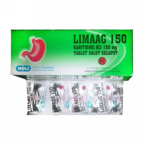 LIMAAG 150 MG TABLET BOX