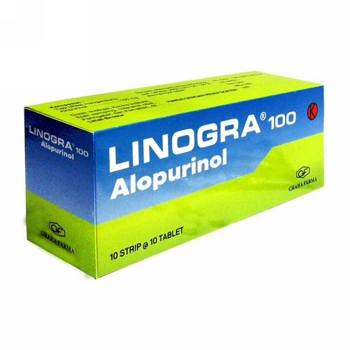 LINOGRA 100 MG BOX 100 TABLET