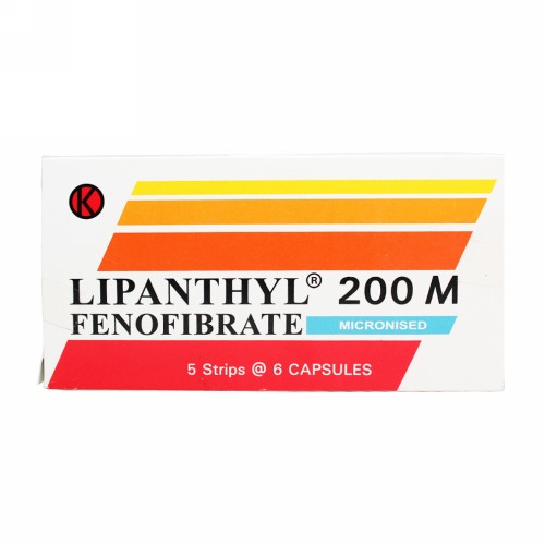 LIPANTHYL M 200 MG STRIP 6 KAPSUL