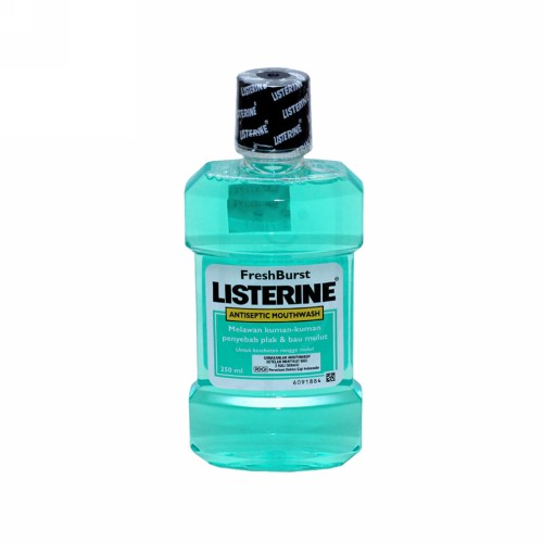 LISTERINE FRESH BURST 250 ML BOTOL