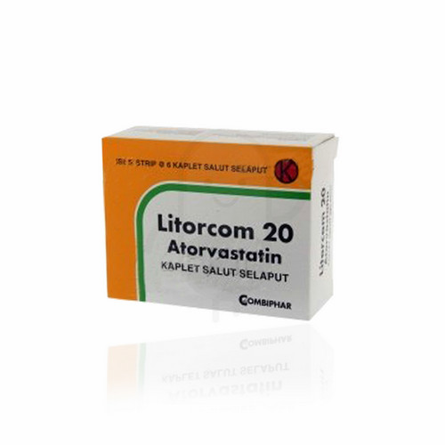 LITORCOM 20 MG KAPLET STRIP