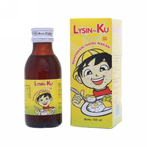 LITTLE U LYSIN SIRUP 100 ML