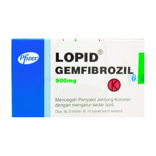 LOPID 900 MG TABLET BOX