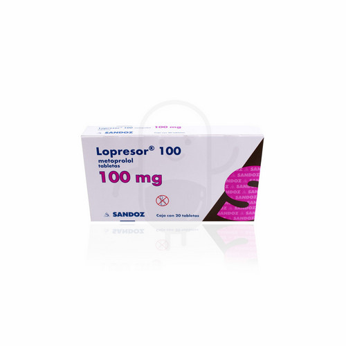 LOPRESOR 100 MG BOX 50 TABLET