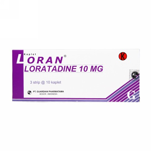 LORAN 10 MG TABLET