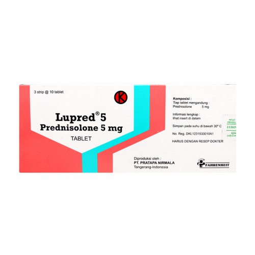LUPRED 5 MG BOX 30 TABLET