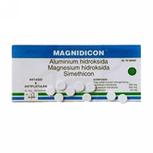 MAGNIDICON STRIP 10 TABLET