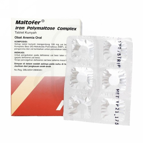 MALTOFER TABLET KUNYAH STRIP