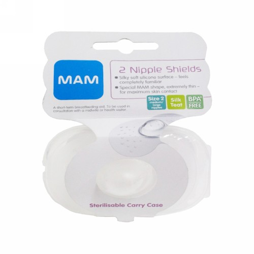 MAM NIPPLE SHIELD SIZE 2