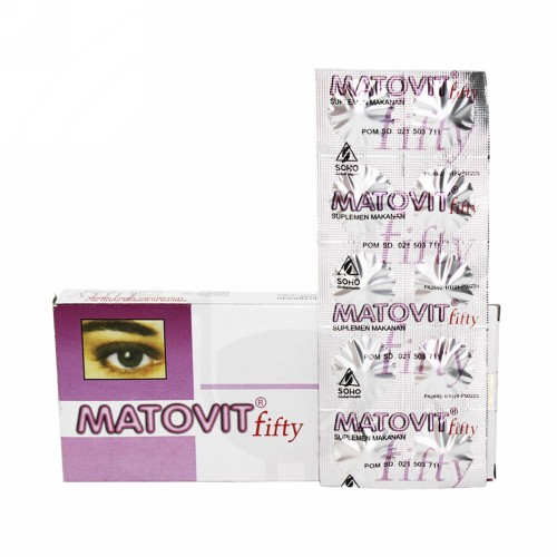 MATOVIT FIFTY BOX 30 TABLET