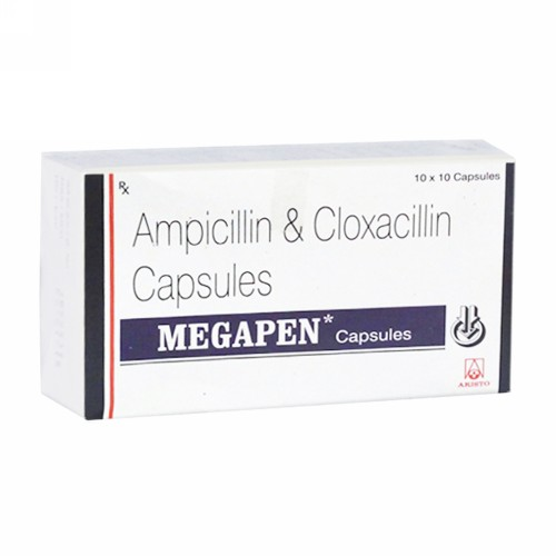 MEGAPEN 500 MG KAPLET STRIP