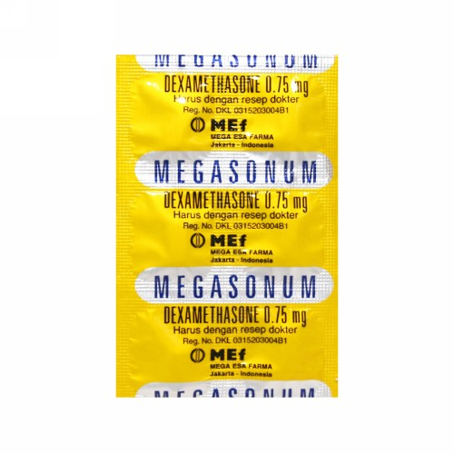 MEGASONUM 0.75 MG KAPLET STRIP