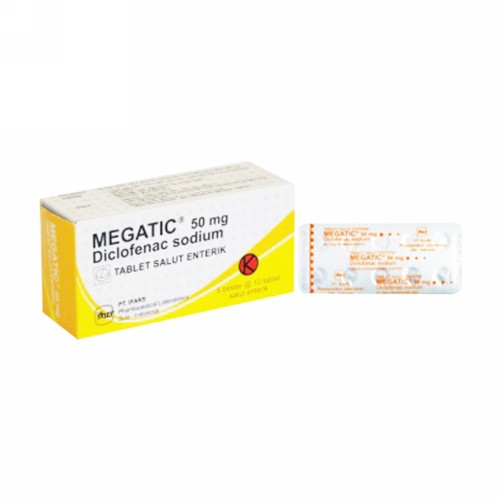 MEGATIC 50 MG TABLET STRIP