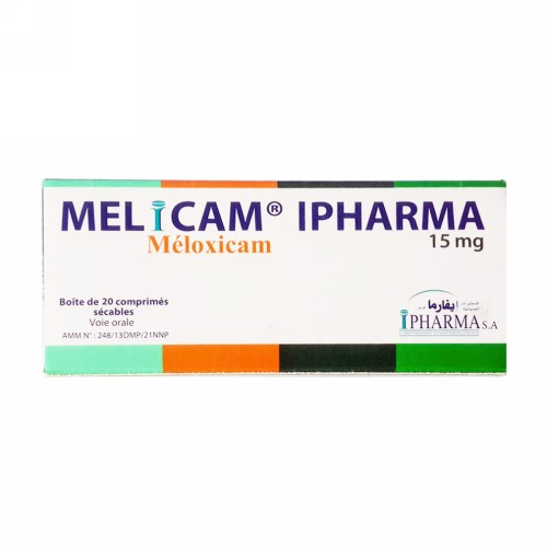 MELICAM 15 MG TABLET STRIP