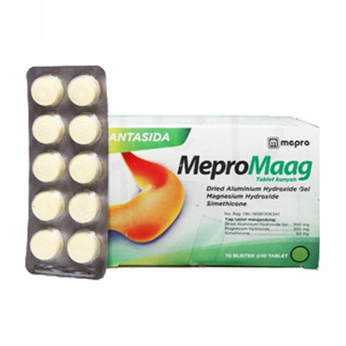MEPROMAAG STRIP 10 TABLET