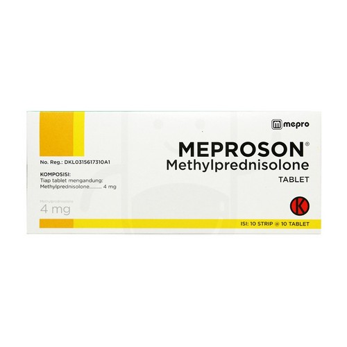 MEPROSON 4 MG TABLET