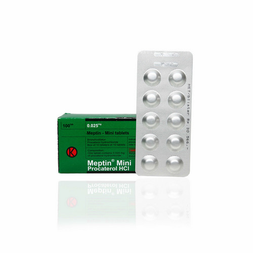 MEPTIN 25 MCG TABLET