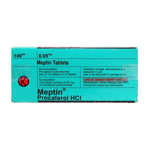 MEPTIN 0.05 MG TABLET