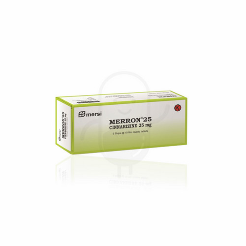 MERRON 25 MG TABLET