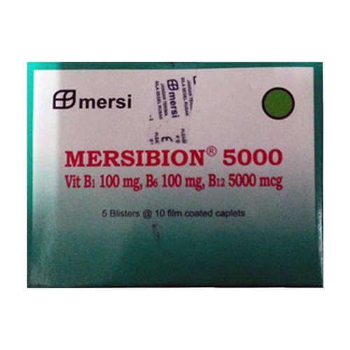 MERSIBION 5000 MG STRIP 10 KAPLET