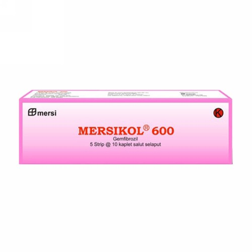 MERSIKOL 600 MG TABLET BOX